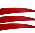 "4"" Kalkonfjäder Shield"